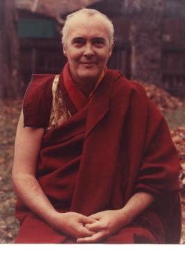 Ven. Namgyal Rinpoche in Palmerston